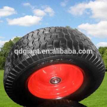 steel rim PU foam wheel 650-8