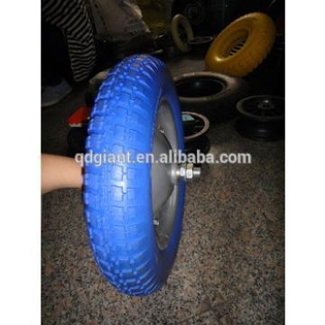 13 inch wheelbarrow PU foam wheel 3.00-8
