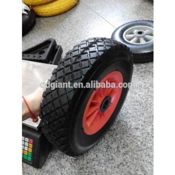 10 inch pu foam wheelbarrow wheel 3.00-6