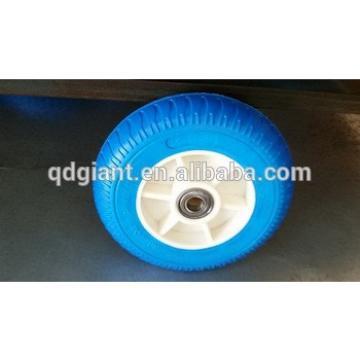 South Korea pu foam wheel 3.00-4 with plsatic rim