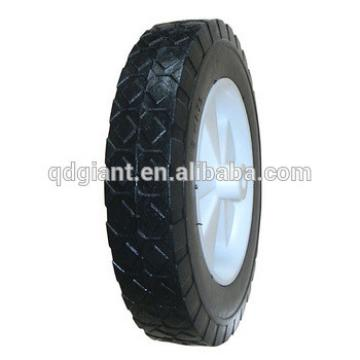 PU foam tire with plastic wheel 8x1.75 for garden carts