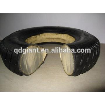 16x4 inch PU filled rubber wheel 4.00-8