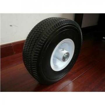 PU foam flat free wheel 3.50-4