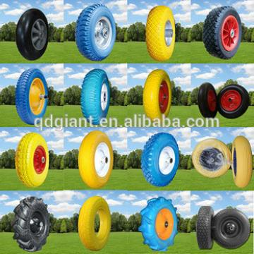Provide puncture proof Strong toughness wear-resisting PU foam wheels