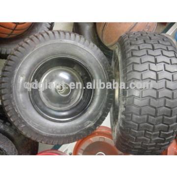 "16"" pu foam wheels with plastic rim 6.50-8"