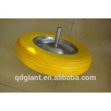 Exlellent Flat free tire with steel rim
