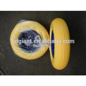 Prevent gas leakage pu foam wheel 16 inch