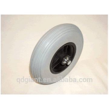 Gray pu foam wheel 200x50