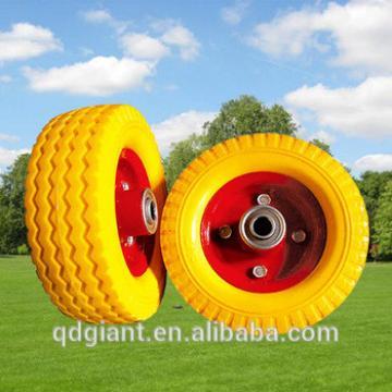 "PU Foam wheel 6""x2"" and PU wheel 6x2 for trolley cart"