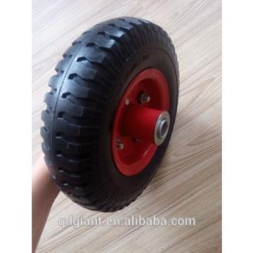 8 inches small PU rubber tire 2.50-4