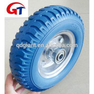 Flat Free PU Foam Wheel 2.50-4 3.00-4 3.50-4 4.00-8