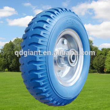 3.00-4 2.50-4 4.00-8 3.50-8 Green pu foam wheels