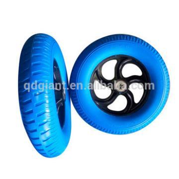 13 inch china high quality 3.25-8 pu foam wheel