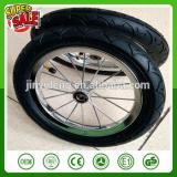 CHINA 12 14 16 inch bick bicycle wheel Trailer flat tool cart Balanced car children bicycle pneumatic spokes ruber wheel