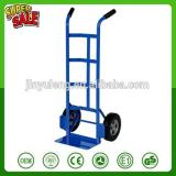 500lb capacity Steel Hand Truck with Dual Handle with Hard Rubber Wheels handle hand trolley turck dolley Tuff Truck Continuous