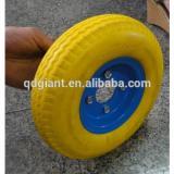 8inch pu trolley wheel 2.50-4