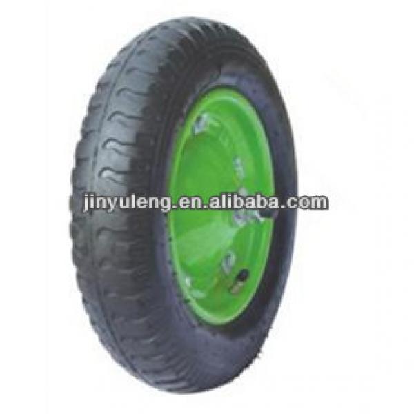 "13""x3.00-8 pneumatic rubber wheelbarrow tyre #1 image"