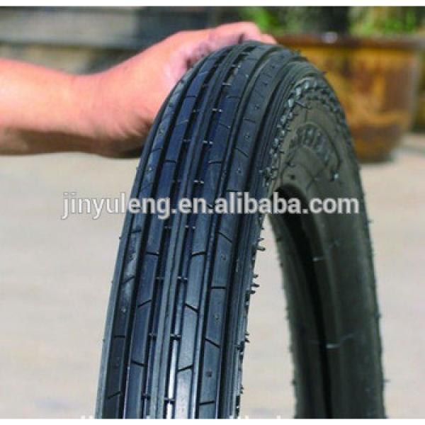 2.50-16/2.50-17/2.75-17/2.75-18/2.75-21/3.00-18 line pattern wear-resisting pneumatic rubber TT motorcycle tire #1 image