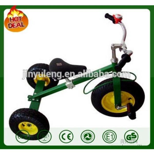 All Terrain Tires Adjustable Seat Tilting Handlebars metal Childs Tricycle little three wheel kid toy bike child tricycle #1 image