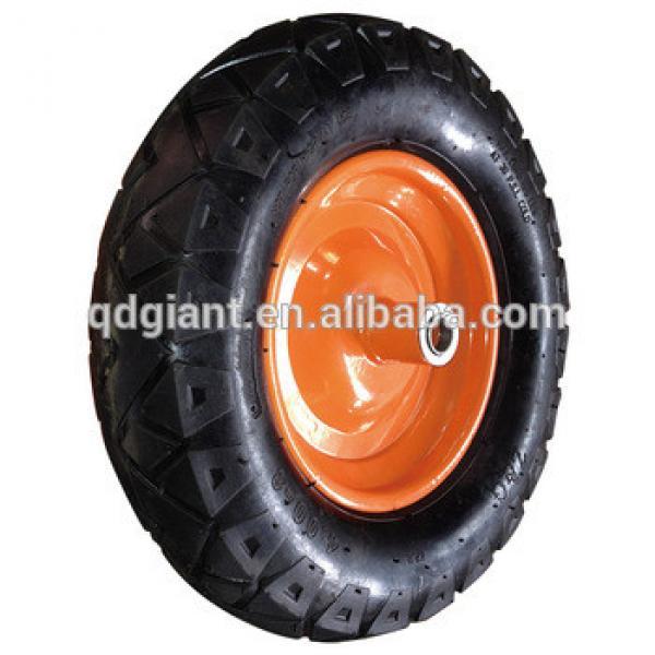 400-8 pneumatic wheels Steel rim #1 image