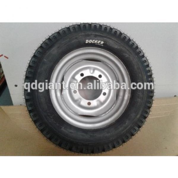 Heavy duty big truck wheel 5.00-12 Tube and Tire #1 image