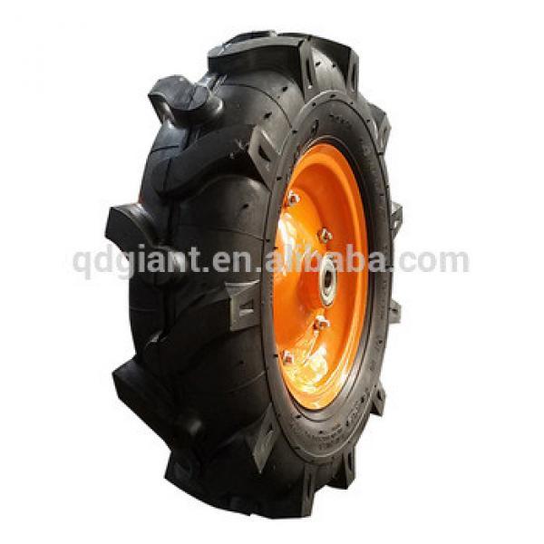 China high quality 16x4.00-8 pneumatic wheel for wheelbarrow #1 image