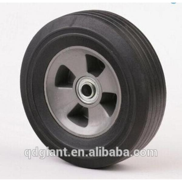 10 inch solid rubber wheel for hand truck #1 image