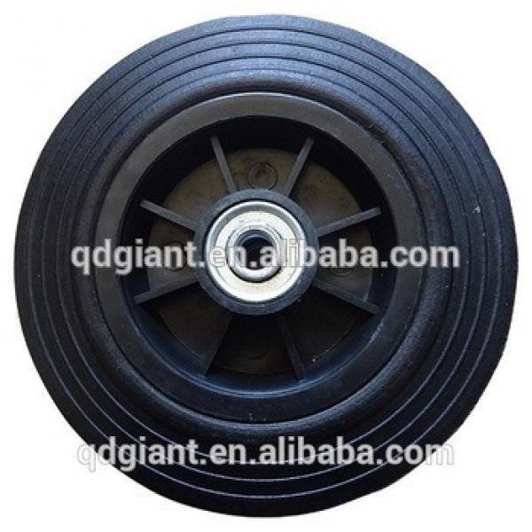 8 inch Powder Rubber Wheel for garbage bin #1 image