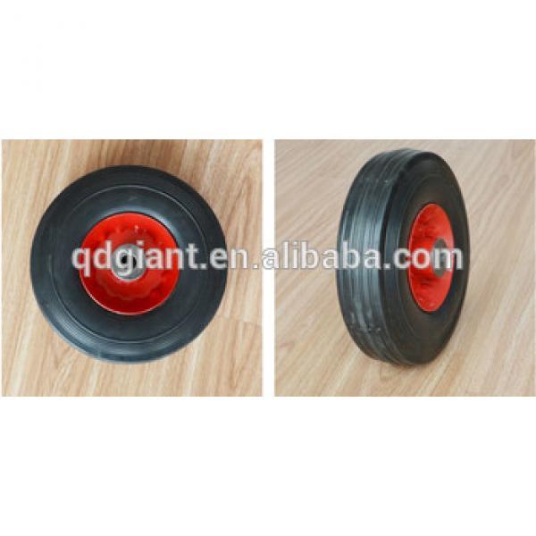 Solid rubber wheel SR1506 8X2.5,6'',10'',12'',14'',15'',16'' #1 image
