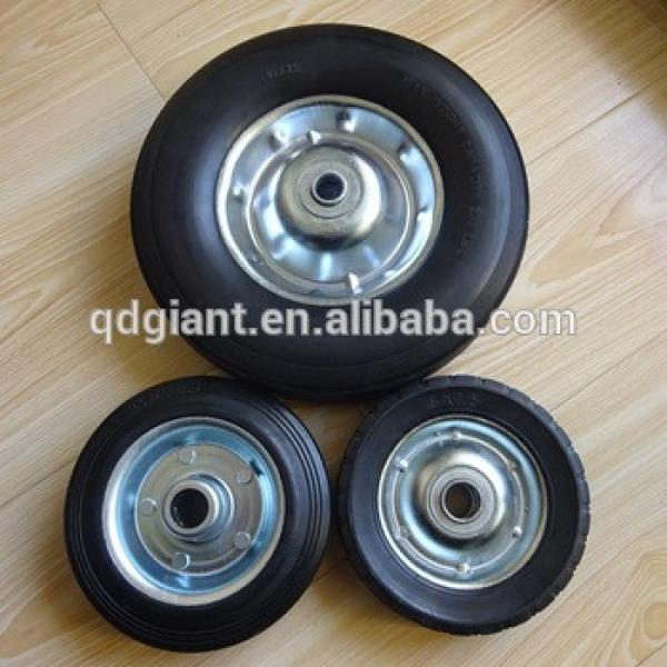 8inch trolley wheel with metal rim #1 image