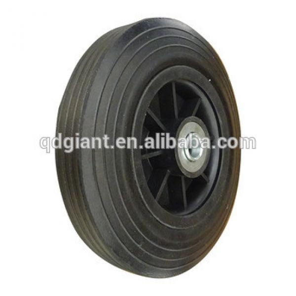 8 inch solid rubber wheels #1 image