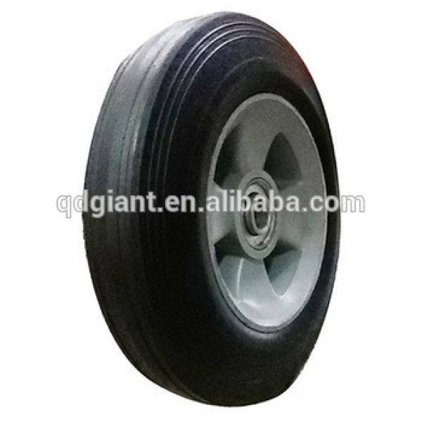 8X2 inch solid rubber wheels #1 image