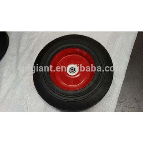 Solid rubber wheel 10x2.5 inch 250mm wheels #1 image