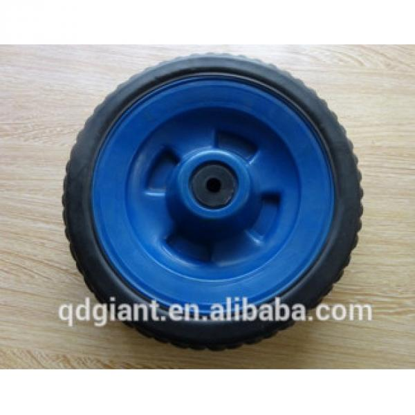 10 inch solid rubber baby trolley wheels #1 image
