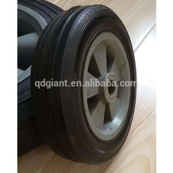 5 inch small wheel lawn mower wheels with plastic rim #1 image
